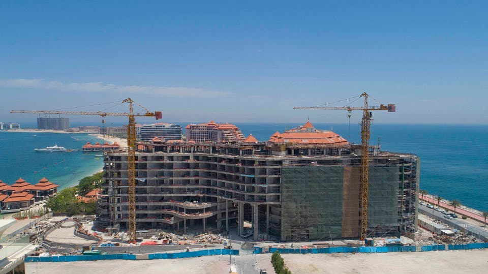 Azizi Developments Marks 61% Construction Milestone of Mina by Azizi on Palm Jumeirah