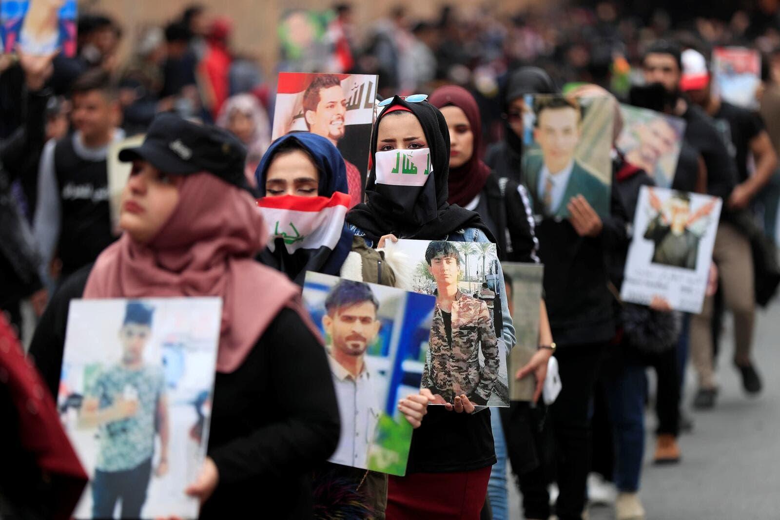 العراق: مواجهات في ساحة الخلاني والمليشيات تواصل ترهيب المتظاهرين