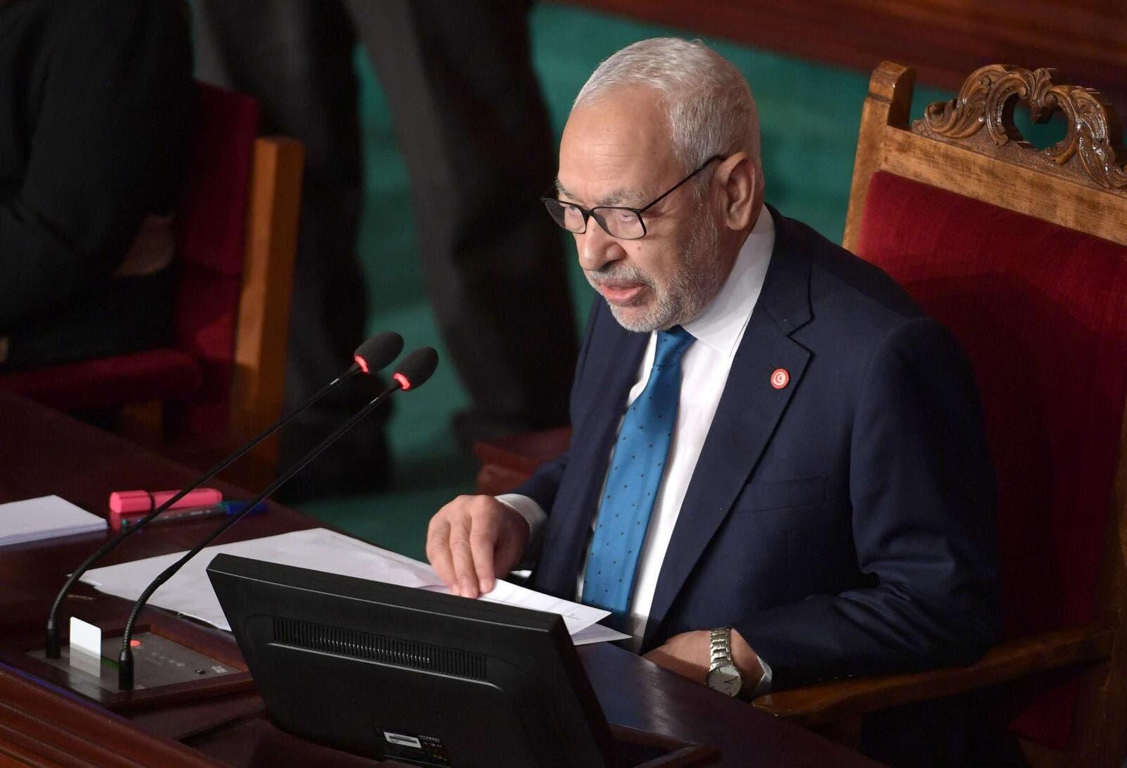 البرلمان التونسي يسأل الغنوشي عن علاقته مع تركيا