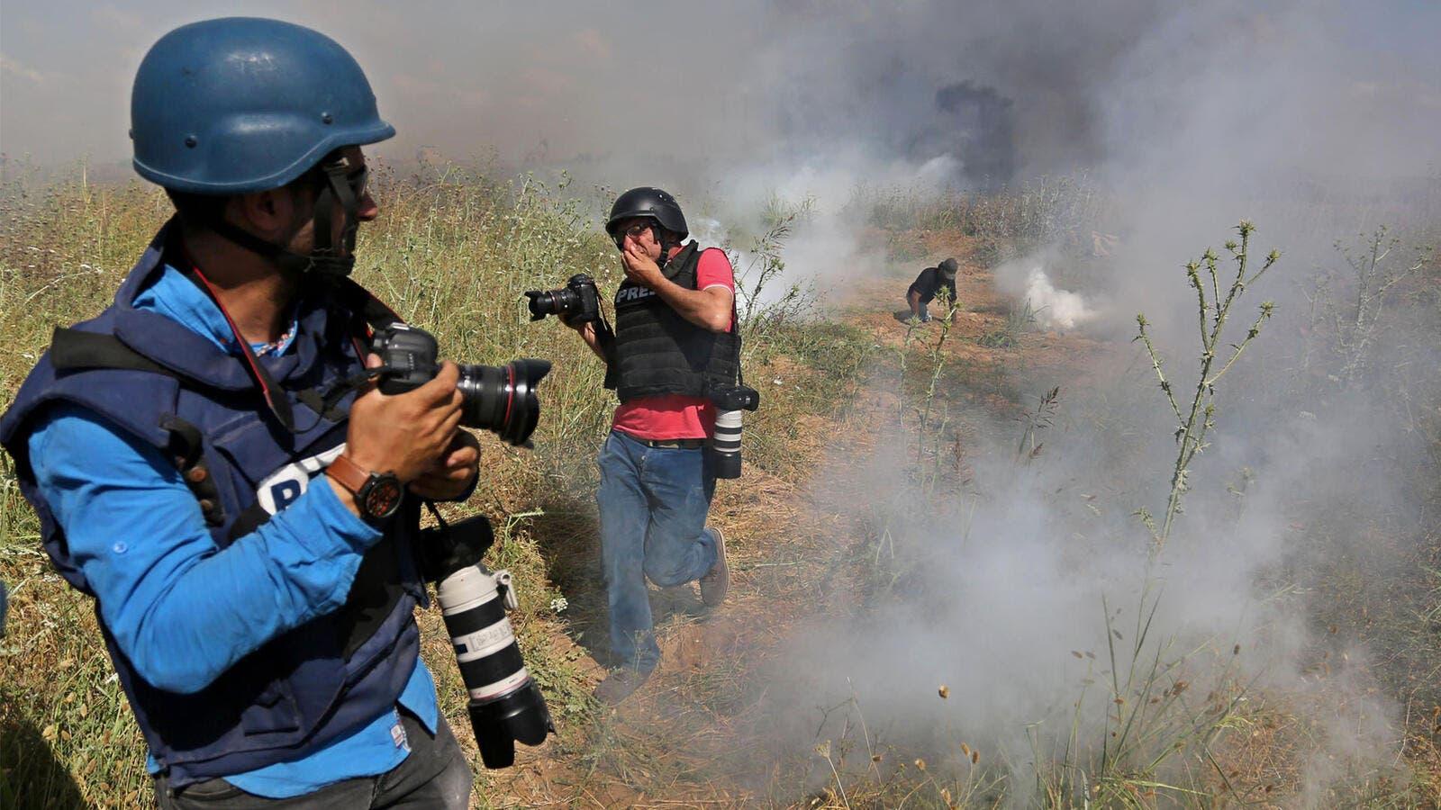 اليوم العالمي لحرية الصحافة: اسرائيل ارتكبت 183 جريمة بحق الصحفيين الفلسطينيين