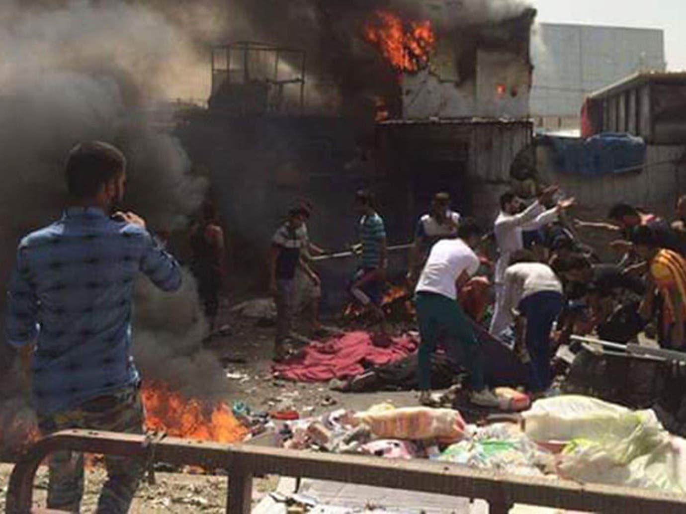 قتيل و 4 مصابين بانفجار عبوة ناسفة في بغداد