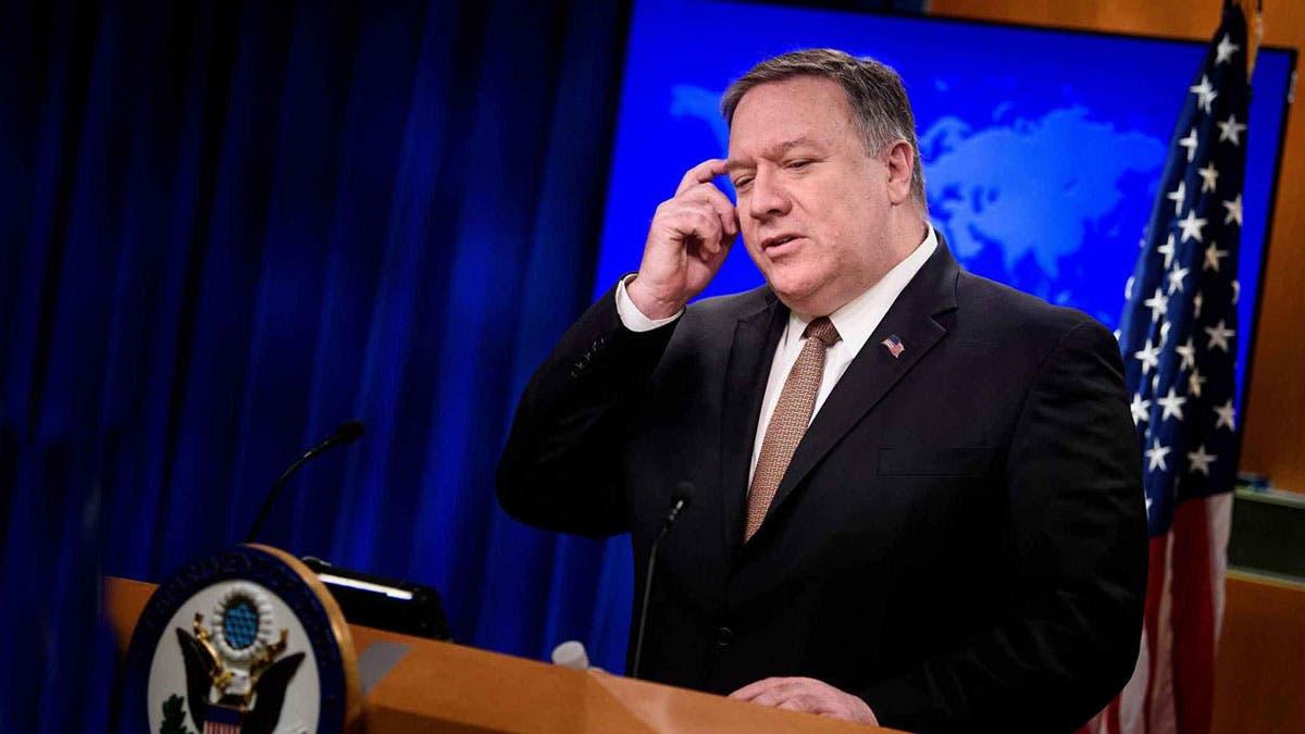 """بومبيو يصف تعامل طهران مع مفتشة من الوكالة الذرية بأنه """"ترهيب شائن"""""""