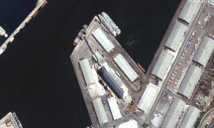تضرر سفينة لليونيفيل في انفجار مرفأ بيروت واصابة عدد من أفرادها بجروح بعضها خطيرة