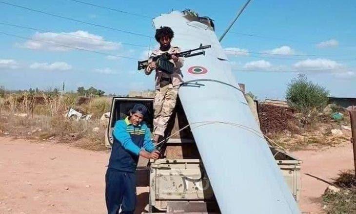 إسقاط طائرة إيطالية مسيرة غربي ليبيا (شاهد)