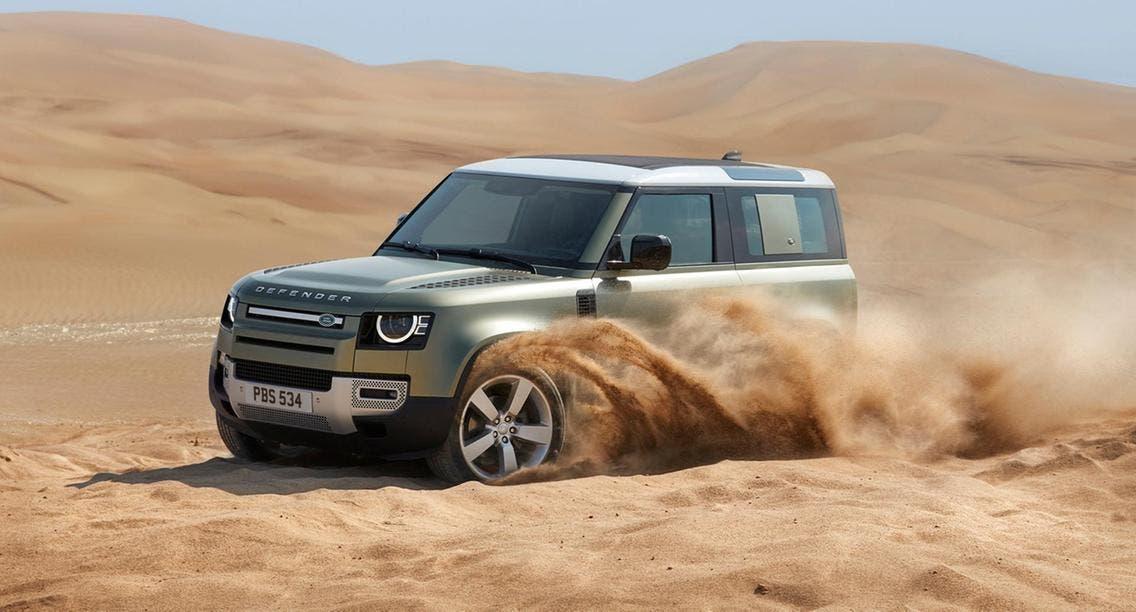 آلان في الإمارات...لاند روفر ديفندر 2020 بتصميمها المذهل