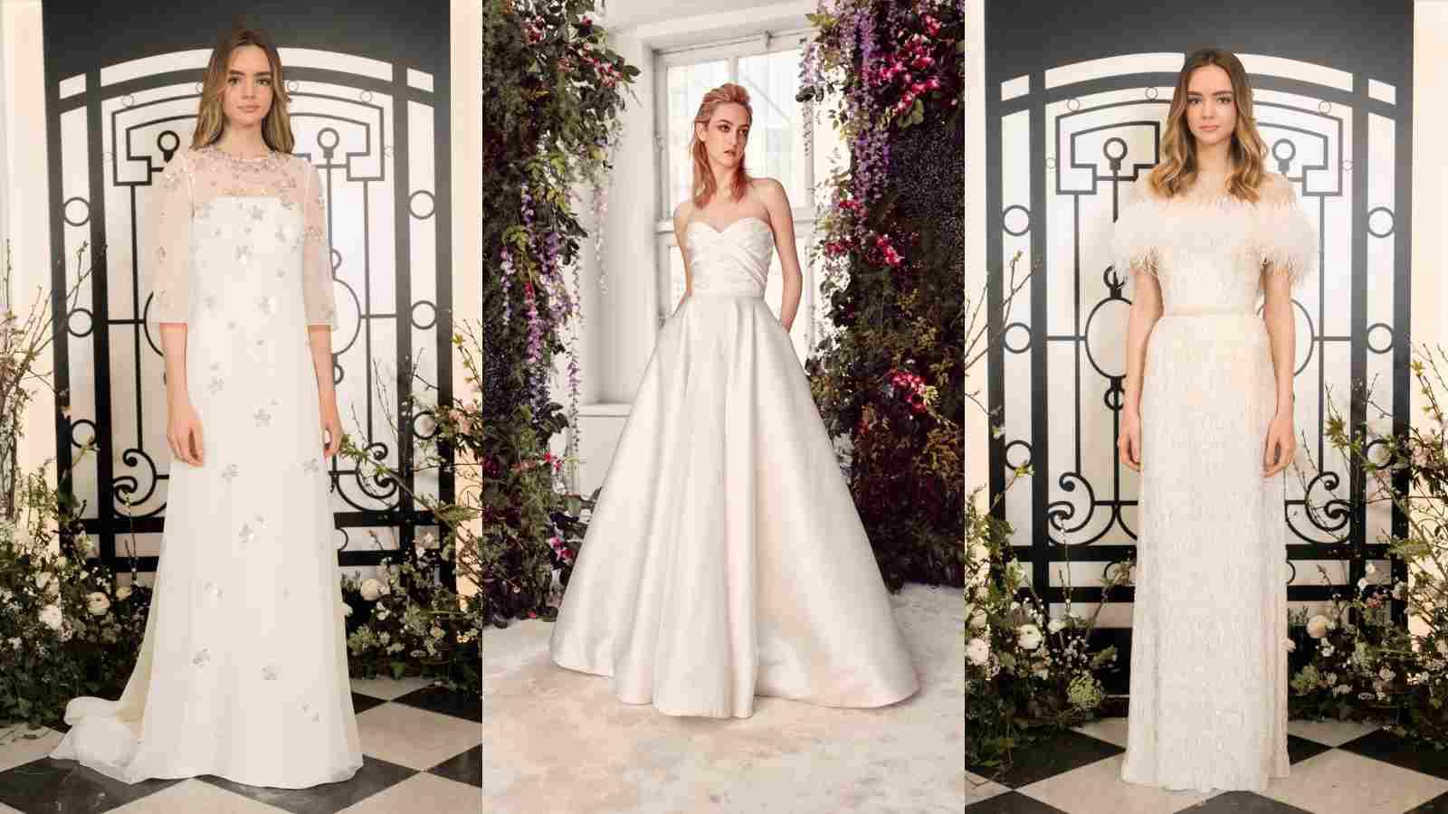 من ريم عكرا إلى جيني بيكهام  إليكِ صيحات زفاف ربيع 2020 من أبرز