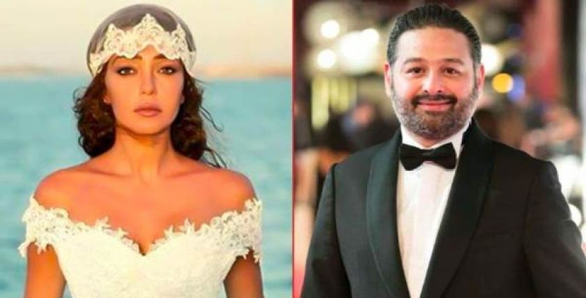 ميرنا المهندس وزوجها