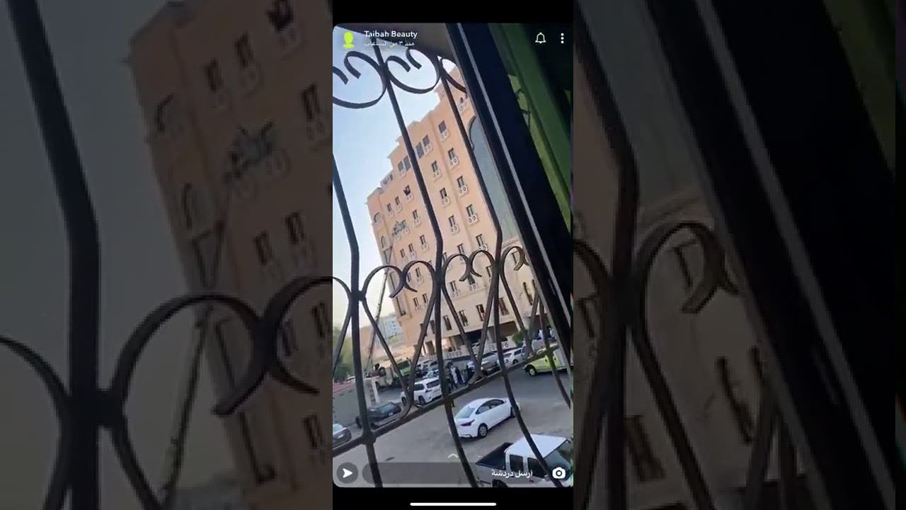 فتاة سعودية تحاول الانتحار من شرفة فندق بالدمام.. والدفاع المدني يتدخل (فيديو)