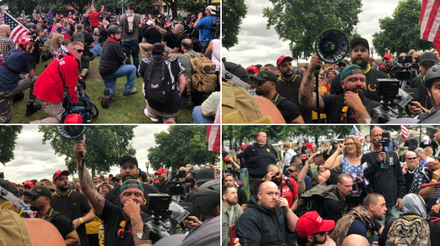 Here are Five Viral Videos of Antifa Extremism in Portland