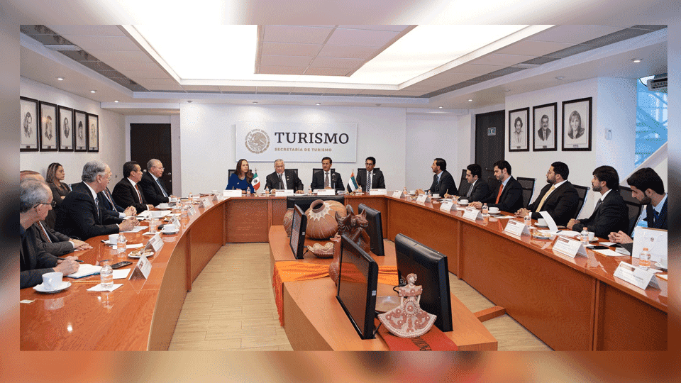 UAE & Mexico Hold Extensive Discussions on Strengthening Economic Cooperation