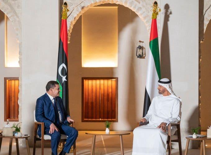 Libyan prime minister in UAE