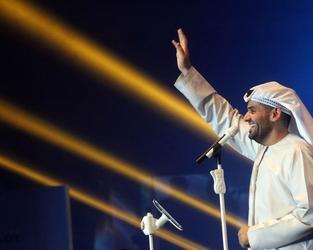 Hussain Al Jasmi, Emirati Musician and UN Goodwill Ambassador (File/AFP)