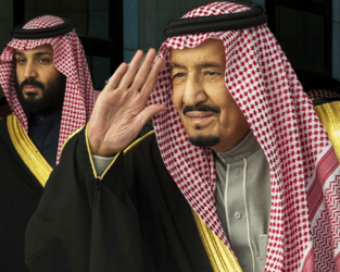 The young Crown Prince Mohammed Bin Salman was appointed in 2017 and has raised controversy over his policies and views on several foreign and domestic issues in the ultra-conservative Kingdom. (AFP/File Photo)