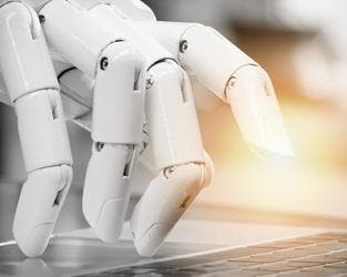 Several robots were on display at the Gitex Technology Week and their companies were actively trying to place them in working positions across different industries. (Shutterstock)