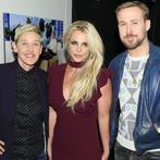Big day on Ellen's show: Britney Spears and Ryan Gosling (Twitter)