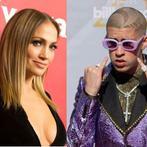 Jennifer Lopez, Bad Bunny. (AFP/File)