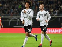 ساني يقود ألمانيا لفوز سهل على روسيا