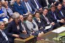 """الحكومة البريطانية تقر """"مشروع اتفاق"""" الخروج من الاتحاد الأوروبي"""