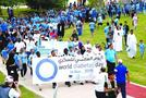 A view of the Annual Diabetes Walkathon taken out Friday at the Oxygen Park in Education City by Qatar Diabetes Association. (Photo: Jayaram)