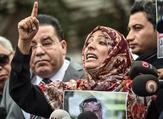 Nobel Peace Prize laureate Yemeni Tawakkol Karman (AFP)