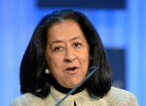 Saudi businesswoman Lubna Al-Olayan is to be the first woman in her country to run a publicly traded bank. (Shutterstock/File)
