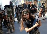 Al-Quds Brigades Female Fighters (static.seattletimes)