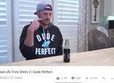 فيديو Real Life Trick Shots 2  لمجموعة dude perfect  الشهيرة والذي أصدره في شهر يناير وحصد أكثر من 136 مليون مشاهدة.