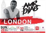 عمرو دياب يبدأ جولة البومه الجديد من لندن
