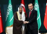 Turkish President Recep Tayyip Erdogan with Saudi King. (AFP/File)