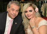 توفيق عكاشة وزوجته الإعلامية حياة الدرديري