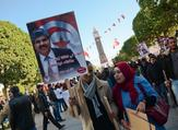 Anniversary of the revolution in Tunis (J.Ciochon/Twitter)