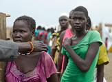 150 women and girls have been raped in attacks by armed men in South Sudan (Twitter)