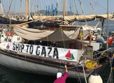 Israel forces attack new freedom flotilla in Gaza, dozens injured  (Twitter)
