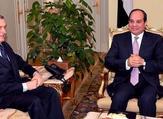 Filippo Grandi  during  two-day visit to Egypt where he met President Abdel Fattah al-Sisi (Twitter)