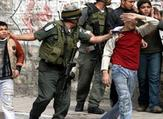 Israeli soldier has been caught on camera shooting tear gas into a Palestinian school  (Twitter)