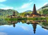 Lake Beratan on Bali Indonesia (Shutterstock)