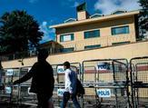 Saudi Embassy in Turkey. (AFP/File)