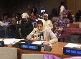 Saudi Arabia's mission in the UN has stressed that women's participation in the development of the Kingdom is a key aspect of Saudi Vision 2030. (Twitter)