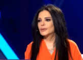"""The Lebanese journalist answered all questions without hiding anything during her latest interview in the program """"Taht Al Saytara"""" (Under Control) presented by Yemeni artist Arwa on New TV. (Source: Arwa Media - Youtube)"""