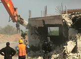 Israeli occupation bulldozers demolished two homes near Al-Khalil (Twitter)