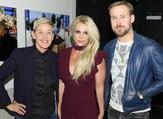 Big day on Ellen's show: Britney Spears and Ryan Gosling (Twitter)