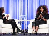 Serena Williams during the women's conference (Twitter)