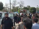 موقع الهجوم على عرض عسكري في مدينة الأهواز بجنوب غرب إيران