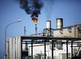 جانب من مصفاة الزواية النفطية في ليبيا