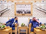 العاهل السعودي الملك سلمان ورئيس الوزراء التونسي يوسف الشاهد في الرياض