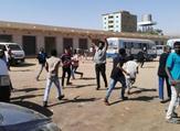 متظاهرون مناهضون للحكومة السودانية في الخرطوم