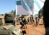 مقاتلون من هيئة تحرير الشام يتدربون في ادلب