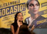 المرشحة الديموقراطية ألكسندريا أوكازيو كورتيز