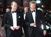 Kensington Palace made the announcement that Harry had chosen William on Twitter alongside photos of the siblings together from throughout the years (Source: Eddie MULHOLLAND - POOL - AFP)