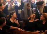 أقباط يشيعون ضحايا هجوم المنيا